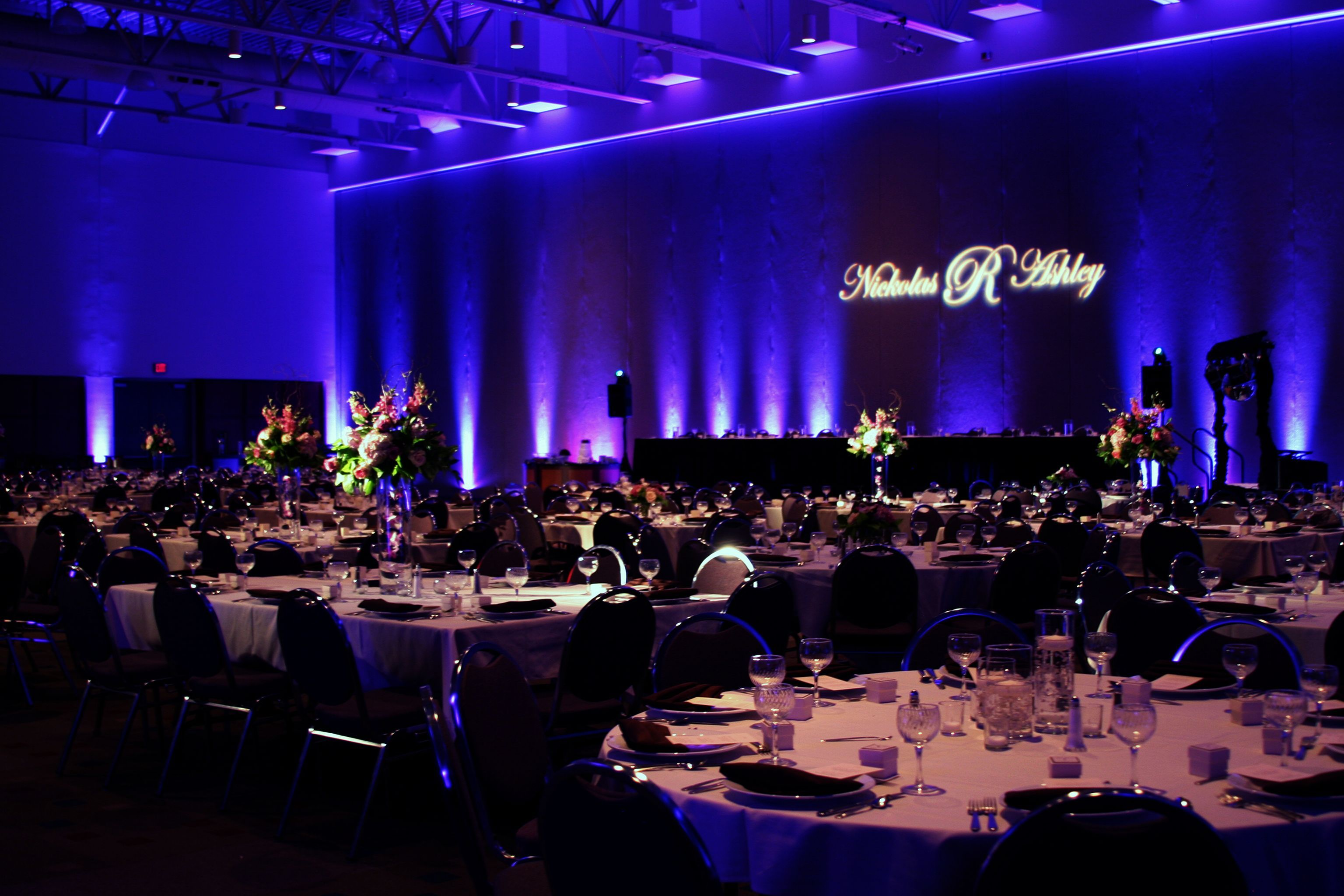 Wedding decoration ideas for hall   Awesome Wedding Reception Lighting Ideas  Wedding reception