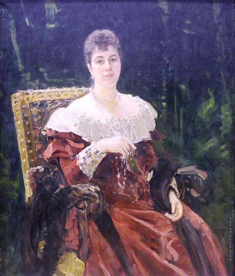 Мария Клавдиевна (1858 – 1928) кн. Тенишева, ур ...
