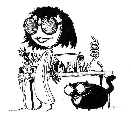 I Am A Mad Scientist Mad Scientist Scientist Character Design