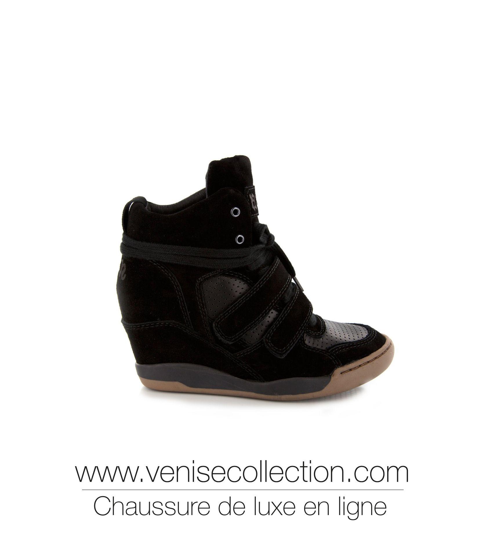 8ab010945e8bf4 Femme Luxe, Chaussures Femme, Baskets De Luxe, Basket Ete, Talons Compensés,