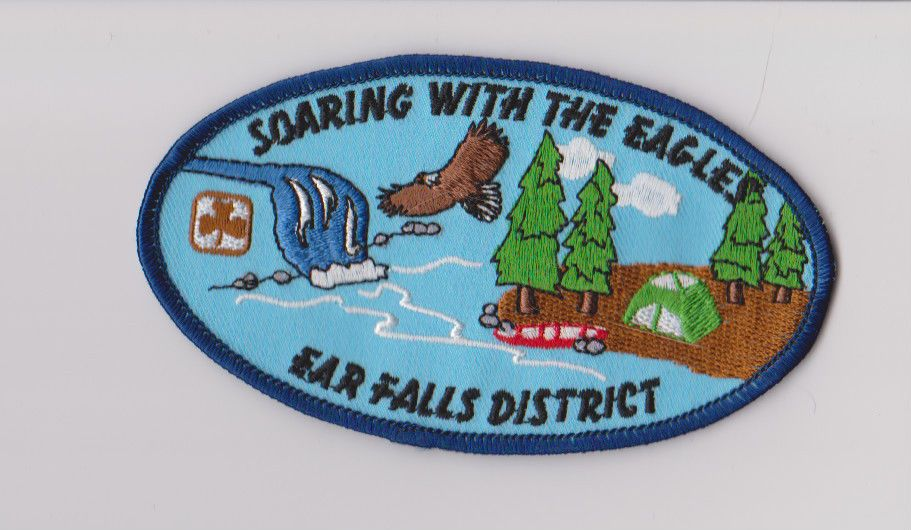 Girl Guides Canada Trading Camp Badge Vintage 1990s Crest Scouts Summer Patch