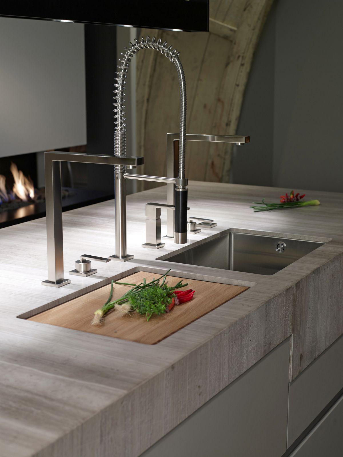 Sie gestalten küchen-design-ideen spültischarmatur für ihre küche treffen sie die richtige
