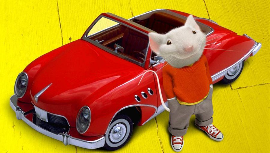 Stuart Little The Coolest Mouse With The Coolest Car Stuart Little Mouse Drawing Favorite Movies