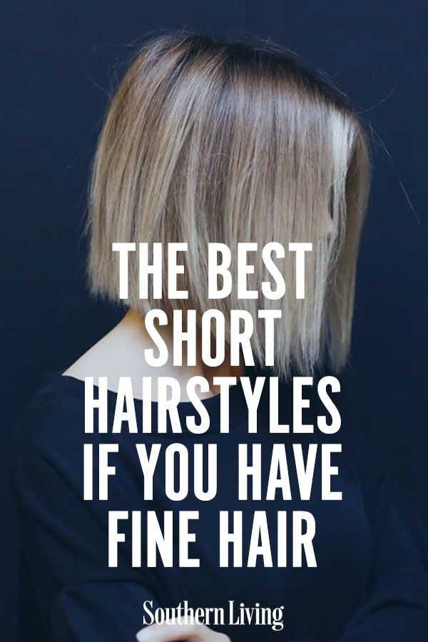 The Best Short Hairstyles If You Have Fine Hair #finehair
