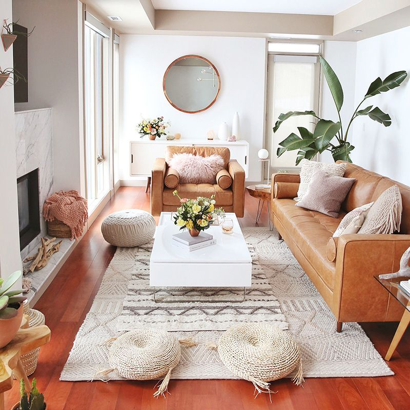 Top 11 Incredible Cozy And Rustic Chic Living Room For: LIVING ROOM REVEAL - JustineCelina In 2020