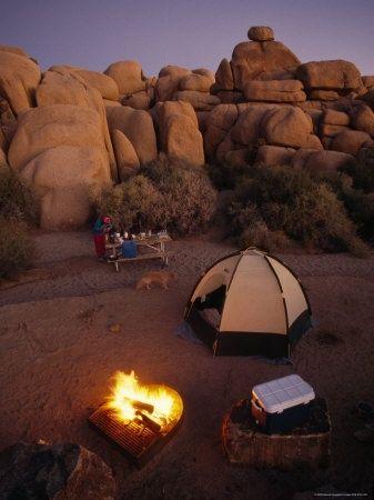 Best Campground! Jumbo Rocks-Joshua Tree