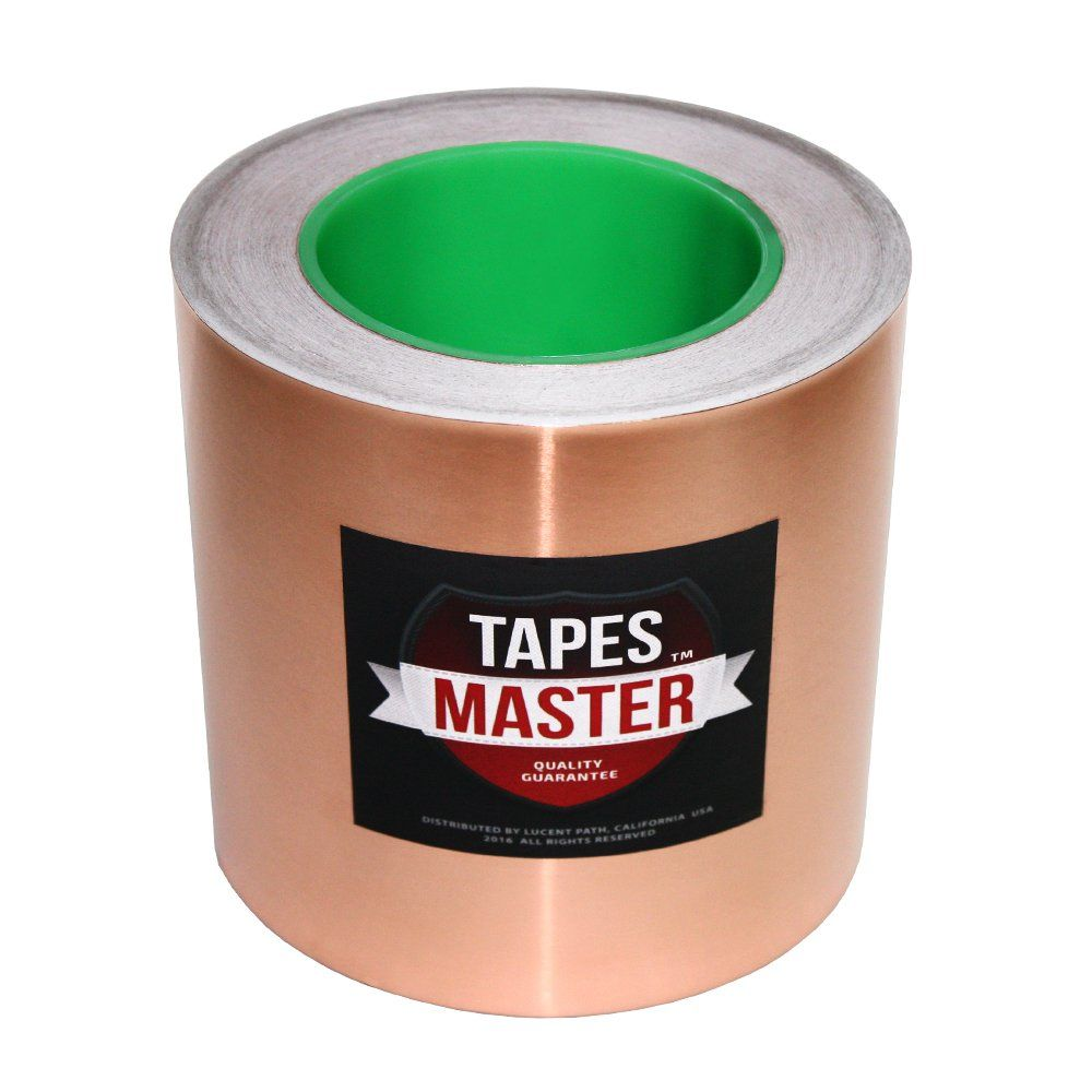 Tapes Master 2 3 4 5 6 X 36 Yds Copper Foil Tape Emi Shielding Conductive Adhesive Tape 6 Inch Want To Know More Cli Copper Foil Tape Foil Tape Copper Foil