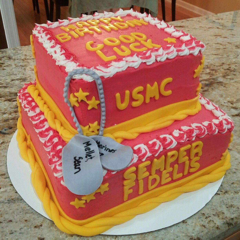 Marines cake Marine cake, Cake, Desserts