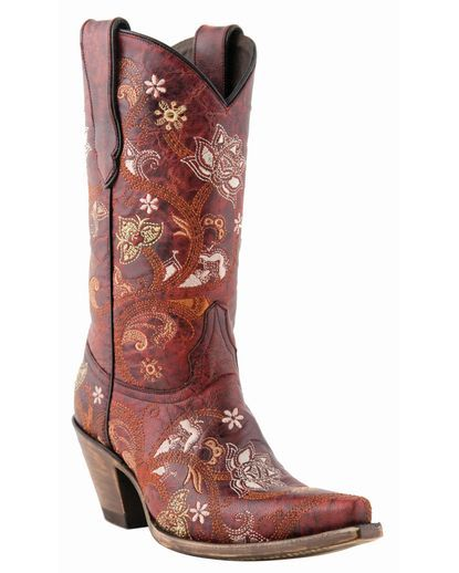 I LOVE these boots ..... and they're called Red Oklahoma!