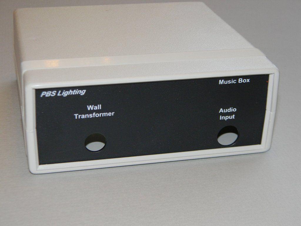 The Music Box Music Light Synchronization Controller Light