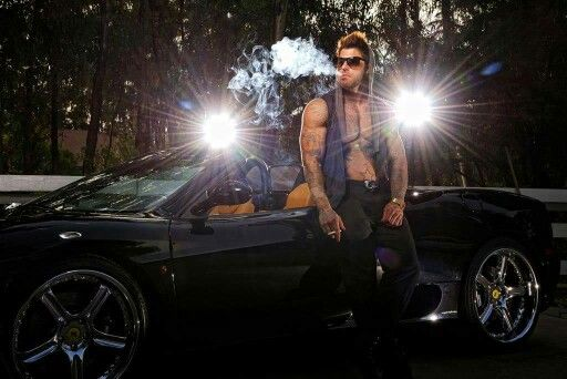 Men with cars