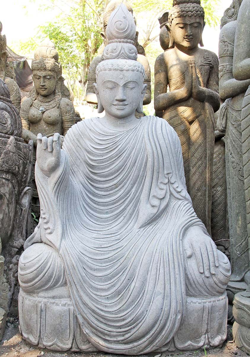 Buddha Statues For The Garden: View The Large Buddha Garden Statue 65