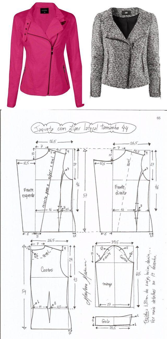 Выкройка женской лёгкой куртки фото 164