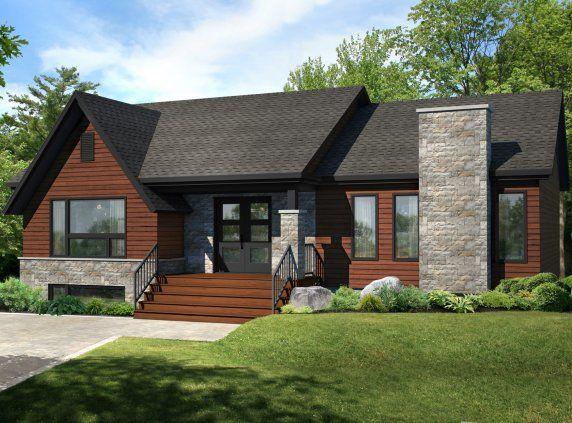 les maisons bonneville maisons usin es plan de maison pinterest house transitional. Black Bedroom Furniture Sets. Home Design Ideas