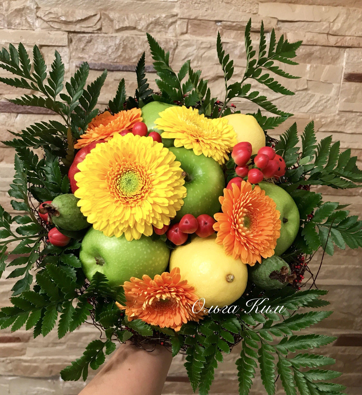 Поздравление фруктовым букетом фото 526