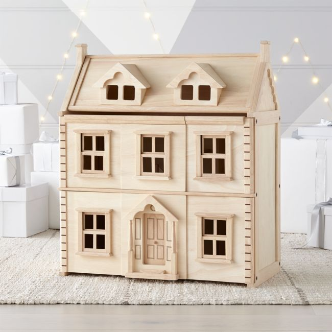 Plan Toys Victorian Dollhouse + Reviews | Crate and Barrel