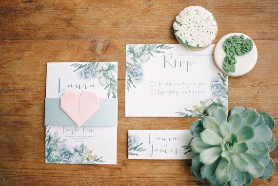 Dem Aquarell Saftigen Hochzeit Einladen Kann Jede Farbgebung Entsprechen.  Die A6 Einladung Ist Single Sided Und Kann Für Tag Und Abend Gäste