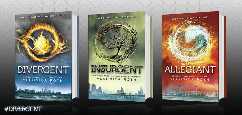divergent trilogy books in order