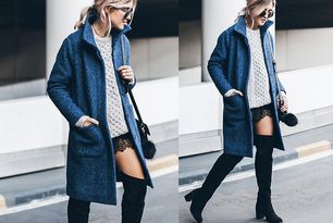 BLUE COAT & LACE