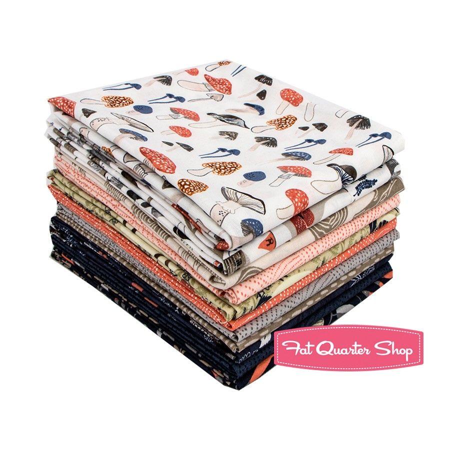 Foxtail Forest Fat Quarter Bundle<BR>Rae Ritchie for Dear Stella Fabrics