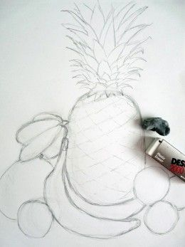 How To Draw A Still Life Composition A Step By Step Guide Fruit Art Drawings Art Drawings Simple Drawings