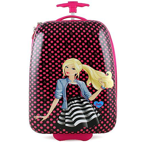 BARBIE POLYCARBONATE HARD SHELL LUGGAGE CASE - Click image twice ...