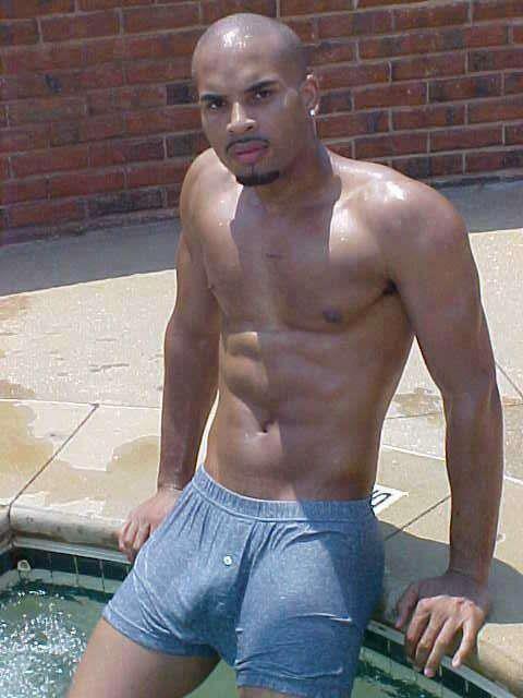 Big Black Men Bulge