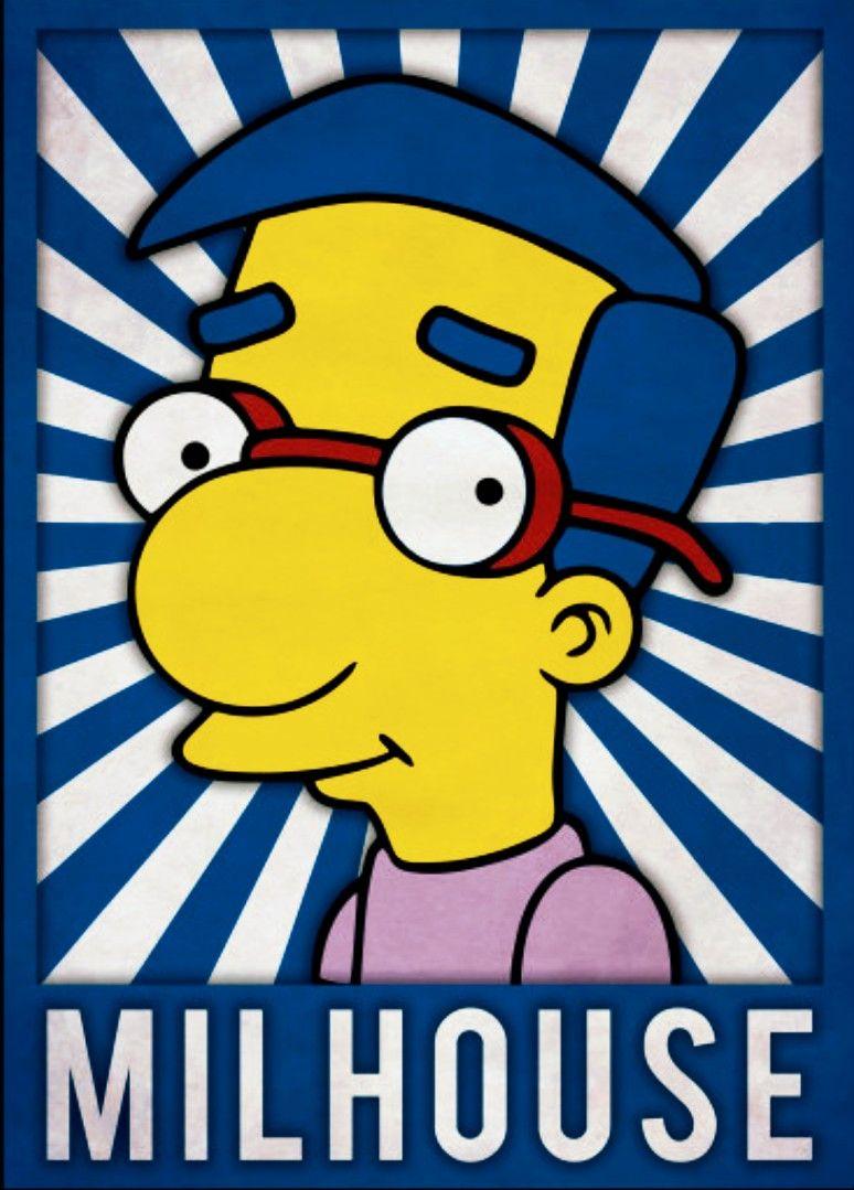 Milhouse The Simpsons Ideias Para Desenho Os Simpsons E