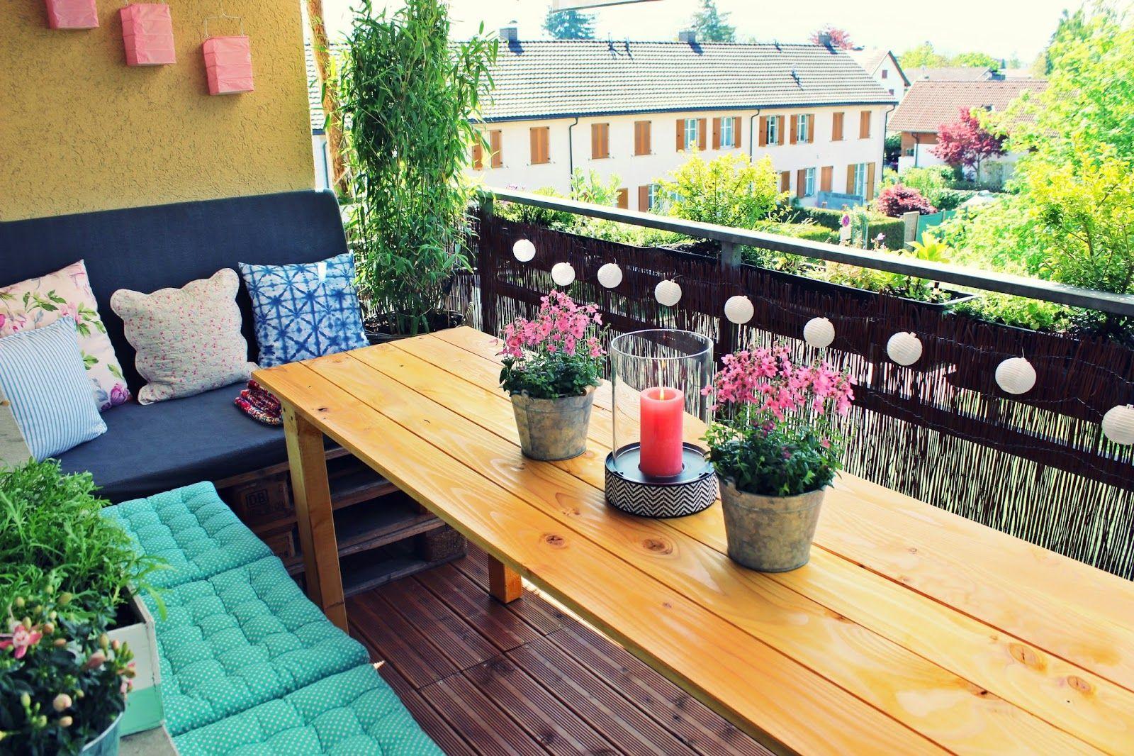 Mein Balkon Gemütlich So Solls Sein Diy Pinterest Balkon