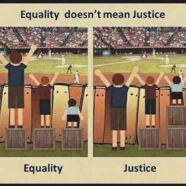 Equality Doesnt Mean Justice >> Center For Civic Reflection Community Leadership Dialog