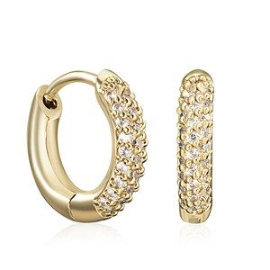 Gold Luxe Earrings $55AUD