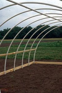 High Tunnel Greenhouse Instructions And Materials List Greenhouse Farming Tunnel Greenhouse Aquaponics