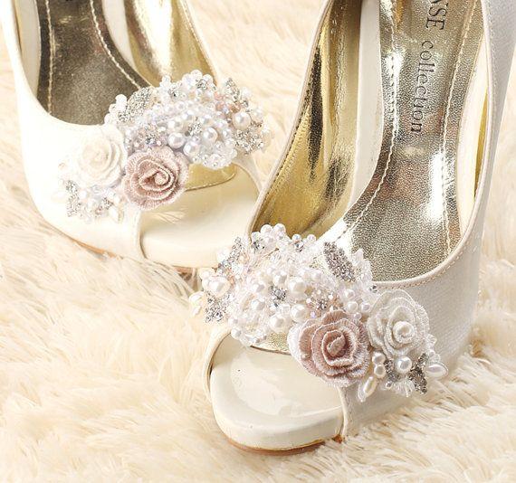 Clip Per Scarpe Da Sposa.Matrimonio Clip Scarpa Scarpe Da Sposa Clip Clip Di Gadabygrace