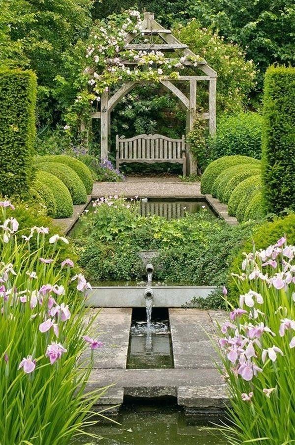 Water Gardens Garden design, Backyard landscaping