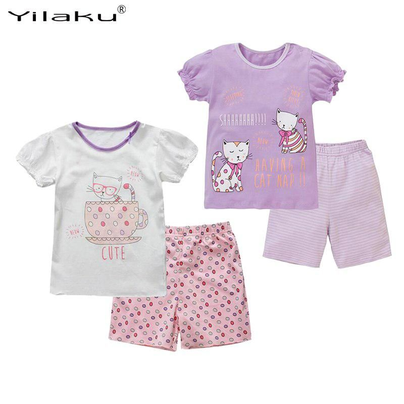 fe55c14db4e3 Summer Girls Clothing Sets Kids Clothes Suit Children Cartoon T-shirt+Short  Pant Girl Clothes Set Children s Clothing CF462. Yesterday s price  US   12.79 ...