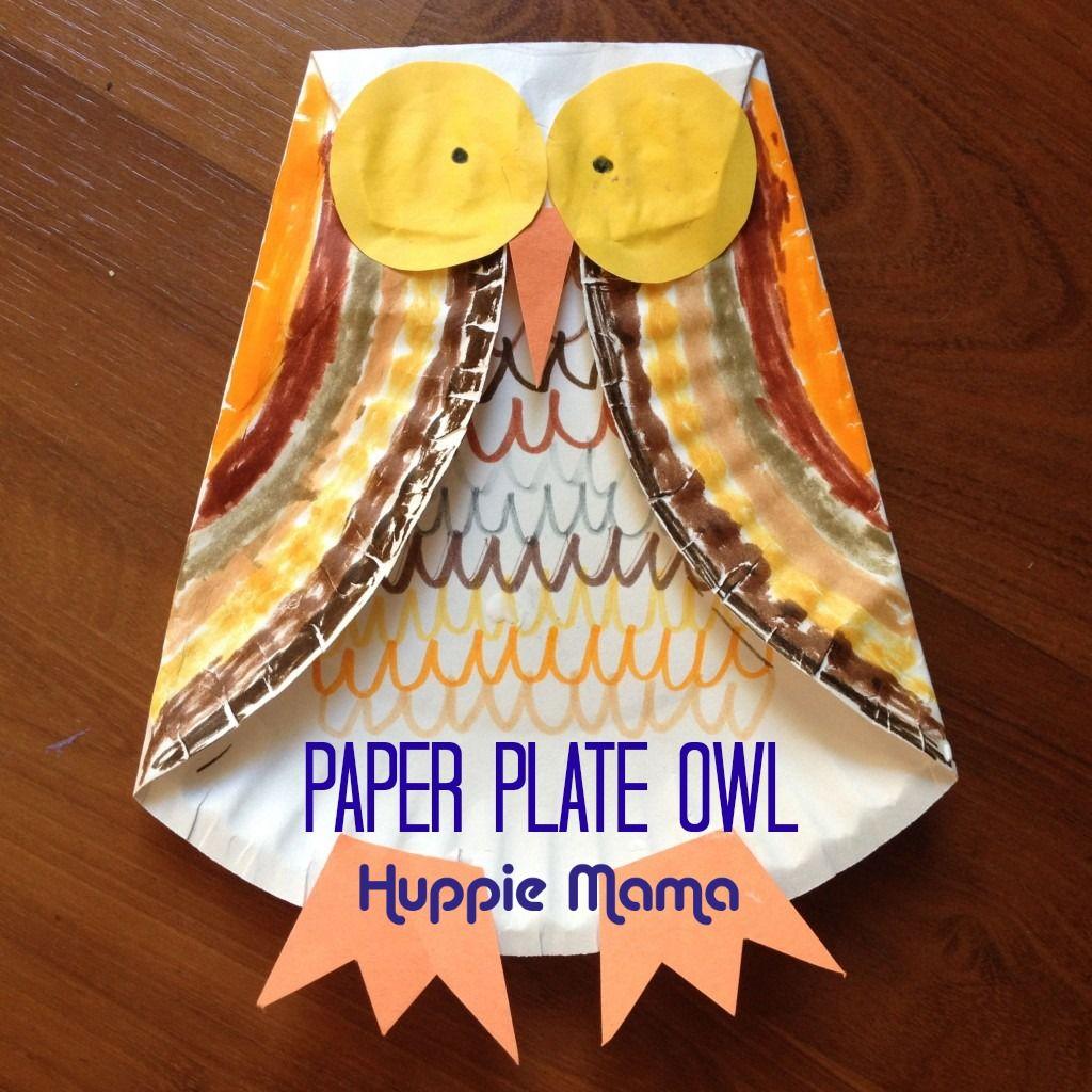 Harvest Craft Ideas For Kids Part - 43: 53 Wildly Fun Owl Craft Ideas