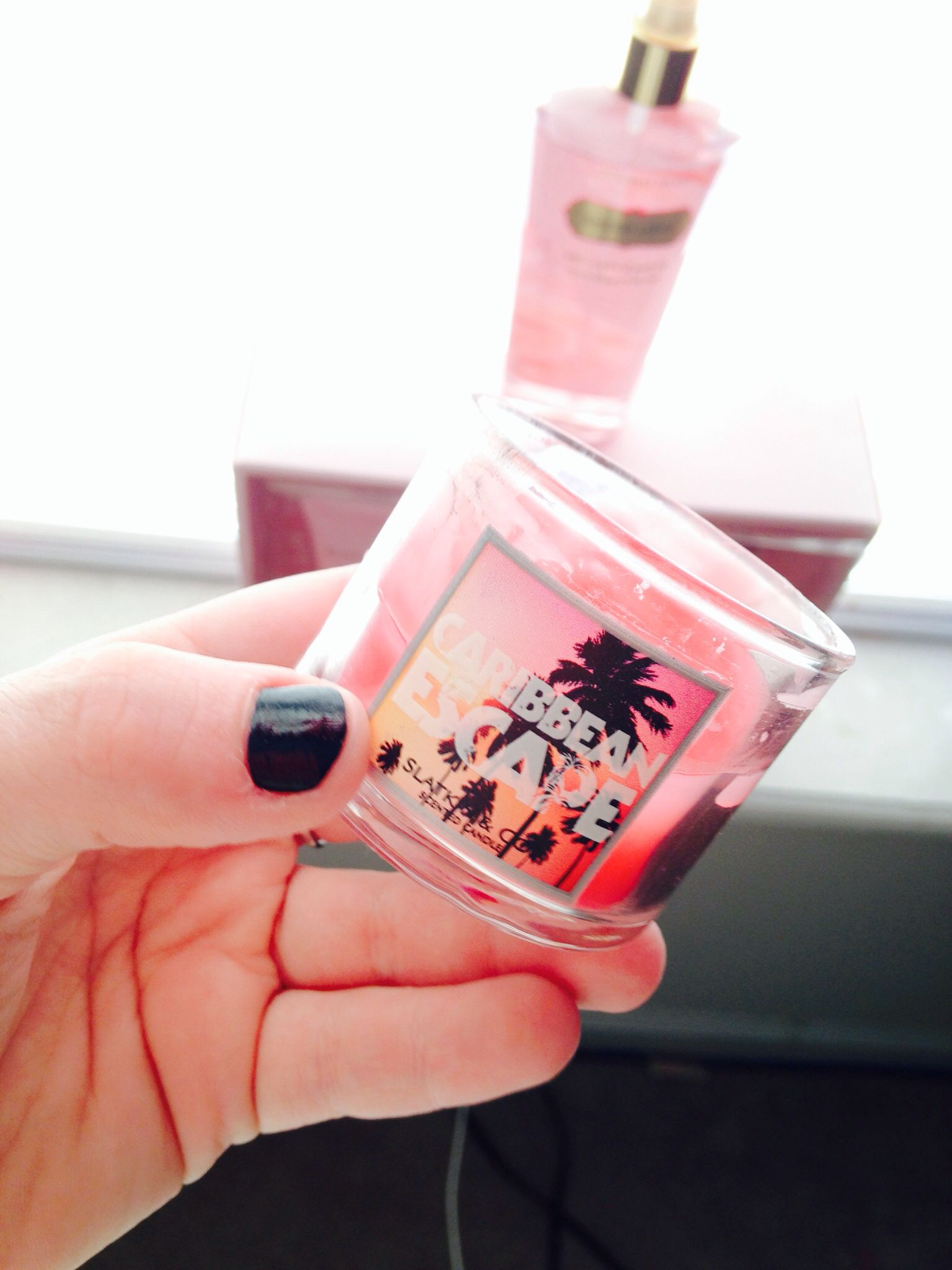 Caribbean escape the best smelling candle at bath body