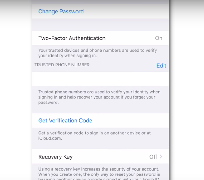 8 Enable Two Factor Authentication If You Have A Few Apple