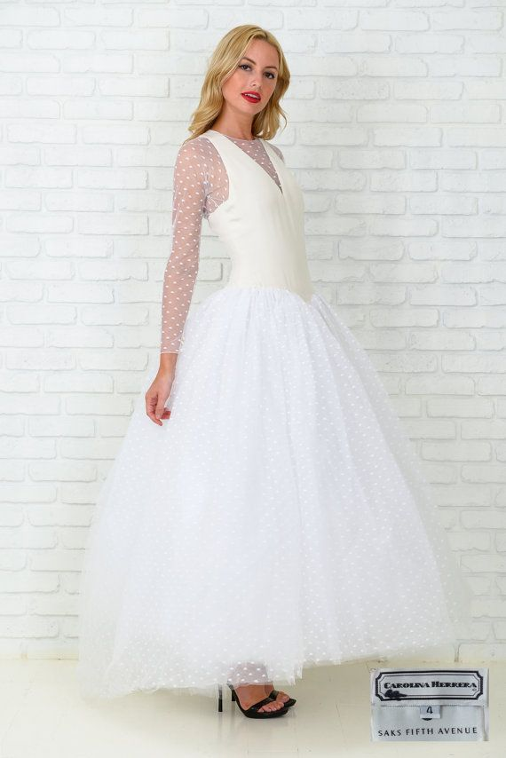 Carolina Herrera Wedding Gown From The Early 90s Saks Fifth Avenue