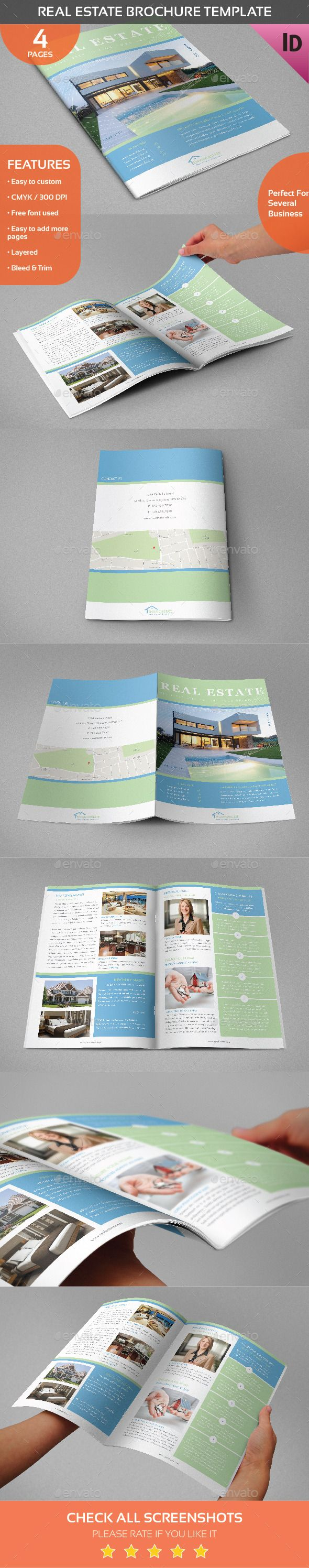 Real Estate Template%0A Real Estate Brochure Template