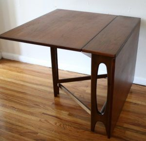 Dining Table With Fold Down Sides