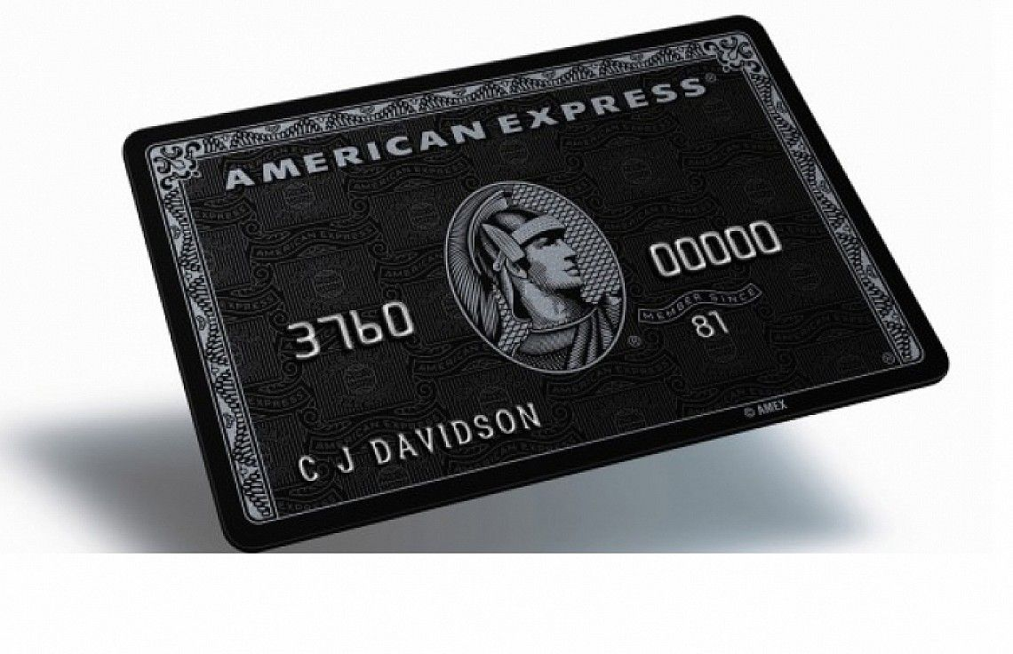 American Express CENTURION (Black) Card - the world\'s most ...