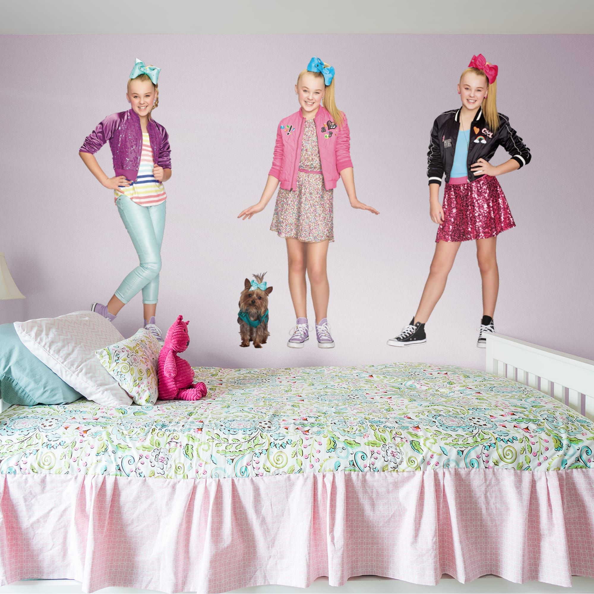 Jojo Siwa Collection X Large Officially Licensed Nickelodeon Removable Wall Decals Jojo Siwa Jojo Girls Duvet Covers