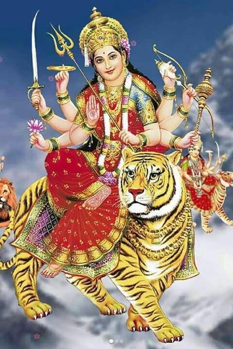 Jai Mata Di Durga Ji Durga Images Maa Durga Image