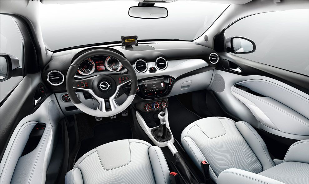 Interieur opel adam my car pinterest toyota and cars for Interieur opel adam