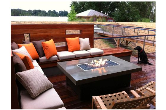 outdoor coffee table fire pit 7 - pictures, photos, images