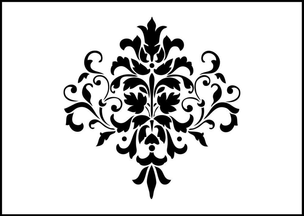 Reusable Stencils of Arabesque in Multiple Sizes Arabesque Stencil