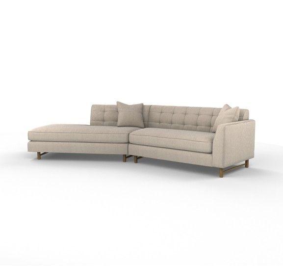 the edward angled sectional sofa mathwatson rh mathwatson com