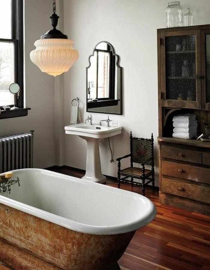 Choisissez un joli lavabo retro pour votre salle de bain Powder