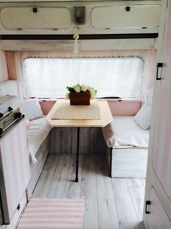My vintage van 2 caravannes vintage pinterest - Reformar caravana ...